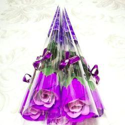hoa hồng sáp thơm Giá sỉ 7k 1 cây gồm cành hoa lá bao bì y hình lun Combo 10 cây 65k Combo 100 cây 600k z a l o 0 9 8 72 1 79 5 2 giá sỉ