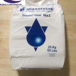 Mua bán Dissolvine Na2 EDTA 2 muối khử phèn cô lập kim loại nặng Giá cạnh tranh giá sỉ