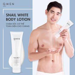 Kem dưỡng trắng da Body QMEN cho nam giới 300ml giá sỉ, giá bán buôn