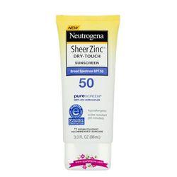 Kem chống nắng Netrogena Sheer ZinC SPF 50 - Dòng kem chống nắng dành cho da nhạy cảm giá sỉ