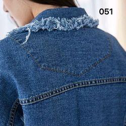 Áo khoác jeans tua giá sỉ