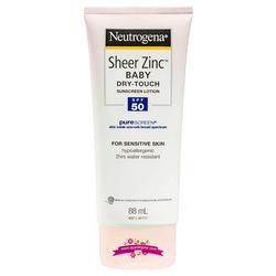 Netrogena Sheer Zinc Baby Lotion SPF50 88ml - Kem chống nắng dành cho da nhạy cảm của em bé giá sỉ