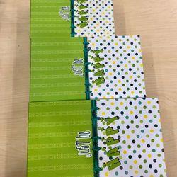 Hộp quà tặng bộ 3 size màu xanh lá giá sỉ