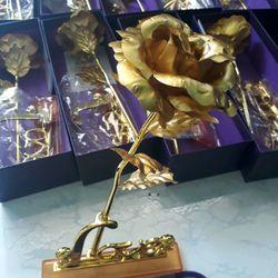 hoa mạ vàng 24k giá sỉ