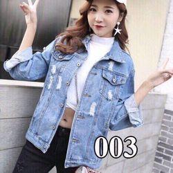áo khoác jeans nữ cute giá sỉ