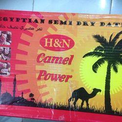 Chà là thượng hạng của Ai Cập Camel Power 1thung 10kg