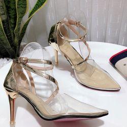 giày cao gót mũi nhọn bít gót giá sỉ