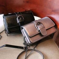 Túi xách đeo vai đôi nịt giữa QC giá sỉ