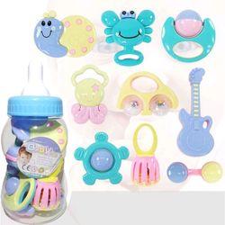 bình sữa xúc xắc 9 món baby toy