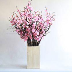 Cành hoa đào Nhật thân xoắn giá sỉ