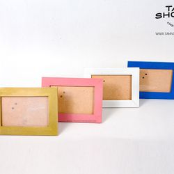 Khung ảnh đơn giản để bàn 10x15 gỗ trơn các màu giá sỉ