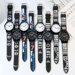 Đồng hồ nam nữ Miler dây cao su nhiều màu giá sỉ