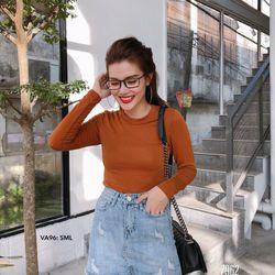 Chân Váy jeans Form A cotton không giãn giá sỉ