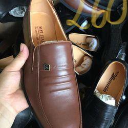giày lười nam da bò bảo hành 2 năm sp giá sỉ