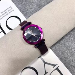 Đồng hồ nữ dây lưới nam châm 1 hàng đẹp giá sỉ, giá bán buôn
