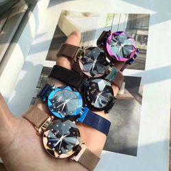 Đồng hồ nữ dây lưới nam châm 1 giá sỉ