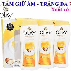 Sữa tắm OLAY – Olay Ultra Moisture Body Wash with Shea Butter 700ml Giữ Ẩm Dưỡng Trắng Da giá sỉ