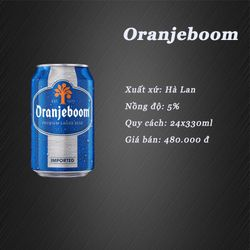 Bia Hà Lan Oranjeboom giá sỉ