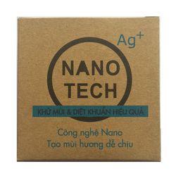 Viên nén khử mùi xe oto nhà cửa tủ giày Nanotech với ion nano Bạc giá sỉ
