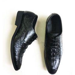 Giày nam da bò thật buộc dây GCS9 giá sỉ