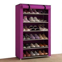 Tủ vải đựng giày 6 tầng giá sỉ