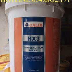 Mỡ siêu chịu nhiệt CALIX HX3 xô 17Kg giá sỉ