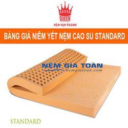 Nệm cao su Vạn Thành STANDARD 160x200x10cm giá sỉ
