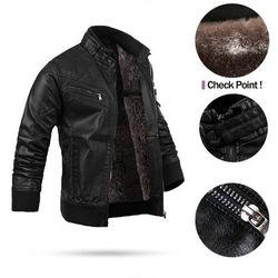 Áo khoác da lót lông KRAKN140 giá sỉ