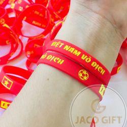 Vòng tay cao su bóng đá Việt Nam vô địch giá sỉ, giá bán buôn