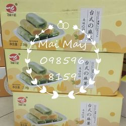 Bánh mochi dài 3 vị 125k/kg giá sỉ, giá bán buôn