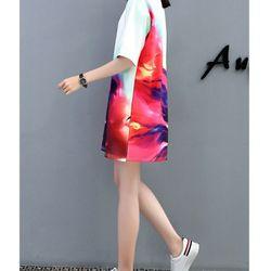 áo thun from rộng 3D biển nước giá sỉ, giá bán buôn