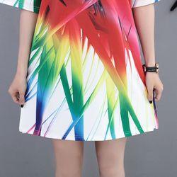 áo thun from rộng 3D cỏ galaxy giá sỉ