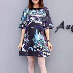 áo thun from rộng 3D CẢNH ĐÊM giá sỉ, giá bán buôn