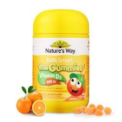 """Kẹo dành cho bé chắc xương khỏe mạnh - N ature""""s Way Kids Smart Vita Gummies Vitamin D 500IU 60 Gummies giá sỉ"""