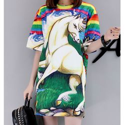 áo thun from rộng 3D ngựa giá sỉ