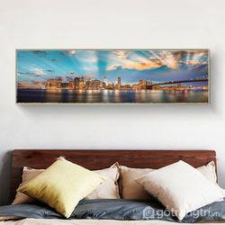 tranh treo tường tranh phòng ngủ tranh ngang-GHS-6455-135x35