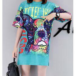 áo thun from rộng cún máy giá sỉ