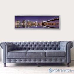 Tranh treo tường tranh ngang tranh sỉ-GHS-6460-135x35