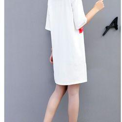 áo thun from rộng 3D girl hoa giá sỉ