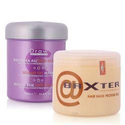 Mặt nạ hấp tóc tinh chất dầu mè làm sáng bóng màu tóc Draw Baxter 1000ml giá sỉ