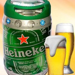 Bia tươi Heineken bom 5 lít Hà Lan giá sỉ