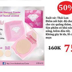 PHẤN NỀN CHE PHỦ SIÊU TỐT CAVIER PINK DIAMOND BB giá sỉ