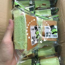 Bánh bông lan trà xanh giá sỉ