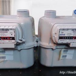 Đồng hồ lưu lượng gas G4 Metrix 6m3/h giá sỉ