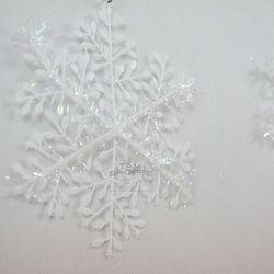 Bông tuyết sợi kim sa bịch 10 cái có 3 size