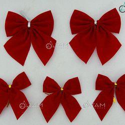 Combo 5 cái nơ đỏ trang trí Noel XMAS-12