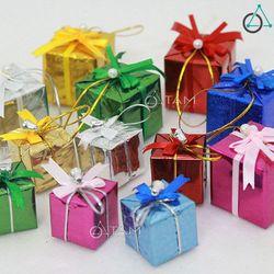 Combo 12 Hộp quà nhí trang trí cây thông Noel XMAS-10