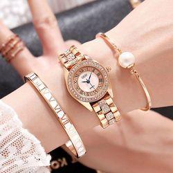 Đồng hồ nữ GEDI 016 Wozi Nhỏ Xinh Phong cách Hàn Quốc giá sỉ