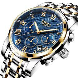 Đồng hồ Nam ROMA ITALY 9903 Justin Kính Tráng Sapphire Full Kim – Dây thép đúc đặt giá sỉ