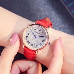 Đồng hồ nữ Hàn Quốc MINGTUO Đính đá giá sỉ